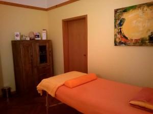 Trauma heilen, Behandlungsliege, Bad Nauheim
